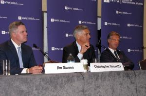 CEOs meet during NYU Conference